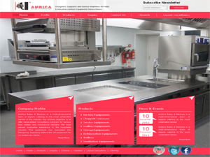 Kitchen Equipments Web Development Services in India
