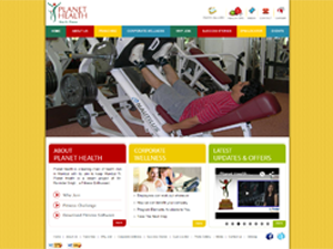 Health and Fitness Website Designing Companies in India